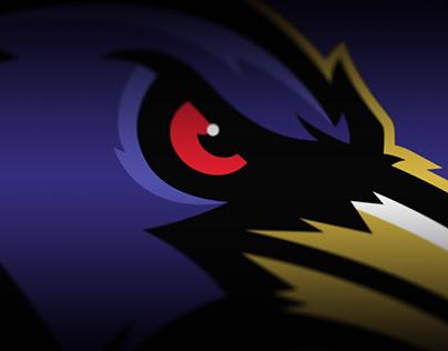 Baltimore Ravens Rebrand Concept