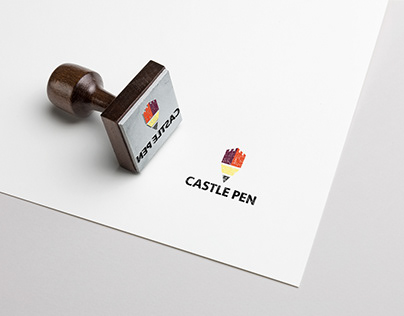 Castle Pen Logo design
