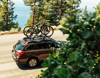 Subaru Outback x Mountain Bike Park
