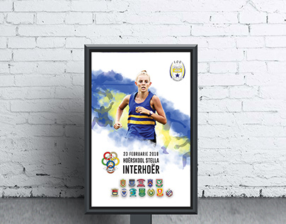 Poster for an athletics event