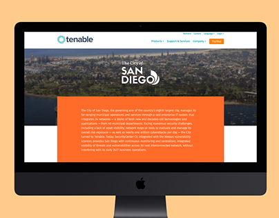 City of San Diego Website Case Study