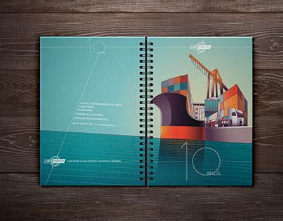 10 ANOS Carpo Logistics, 2015   Caderno