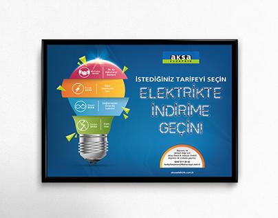 Aksa Elektrik -İndirim Poster