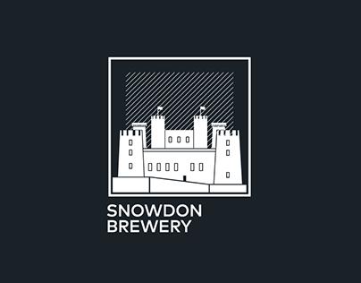 "LOGO FOR ""SNOWDON BREWERY"""
