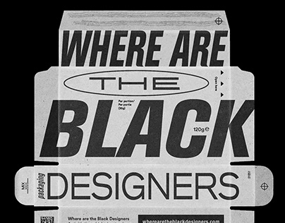 Where Are The Black Designers poster