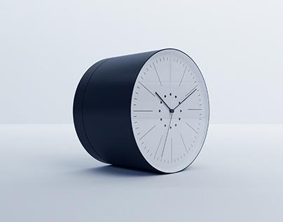 Rolling clock