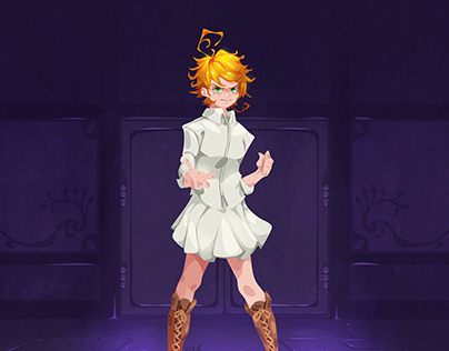 The Promised Neverland Fanarts