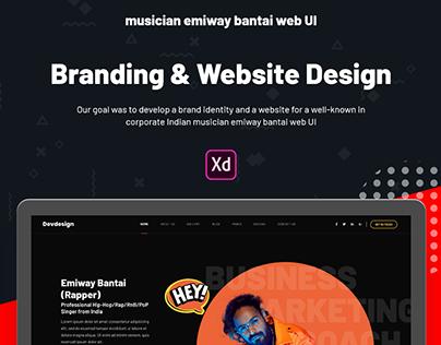 Free Download Musician Emiway Bantai Web UI