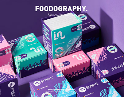 Inv 因为自在卫生巾sanitary napkins | foodography