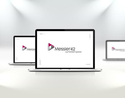 Messier42 Website Design UX/UI Design