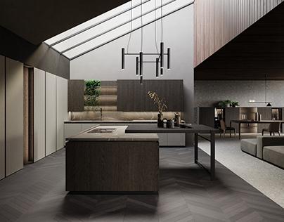 Kitchen Realistic Render #144