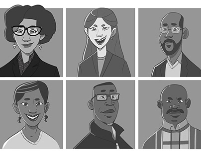 Commissioned company avatars