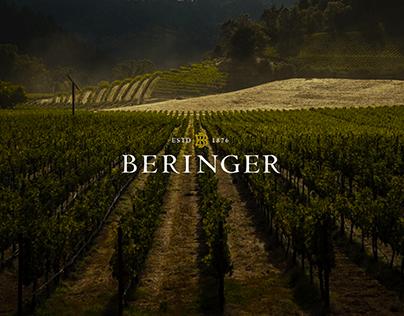 Beringer Website Redesign
