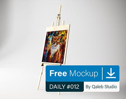 Free Art Canvas in studio