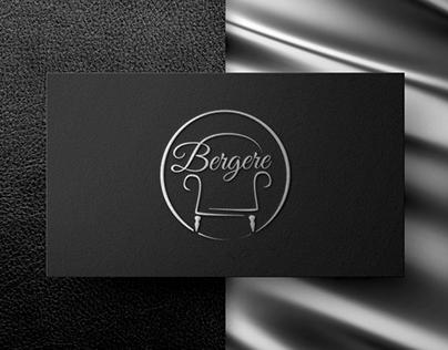 """Furniture workshop """"Bergere"""" logo"""
