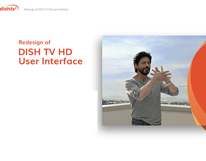 Dish TV interface redesign