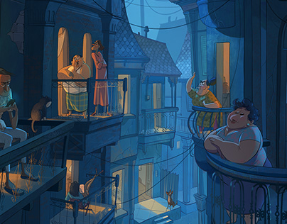 Neighbors - Personal Art