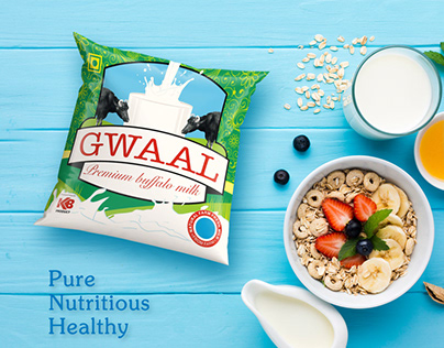 Digital Marketing for Gwaal Milk, Ahmedabad, Gujarat