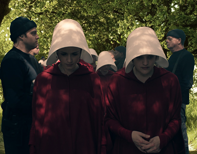 Handmaid's Tale: Pitch Materials for Social Media