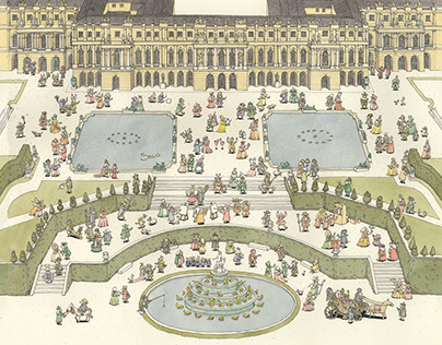 Exclusive collection for Chateau de Versailles