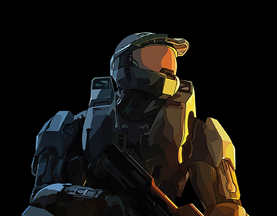 Illustration : Master Chief from HALO