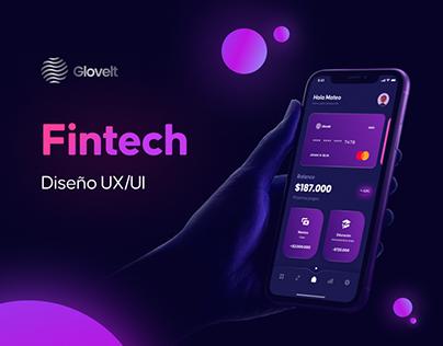 Glovelt | Finance Mobile App Desing