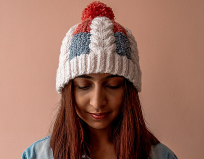 Pastels- Hand Knitted Beanie