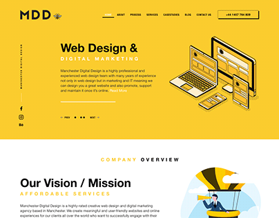 Manchester Digital Design   Website