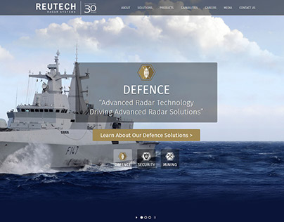 RRS Website Redesign & Development