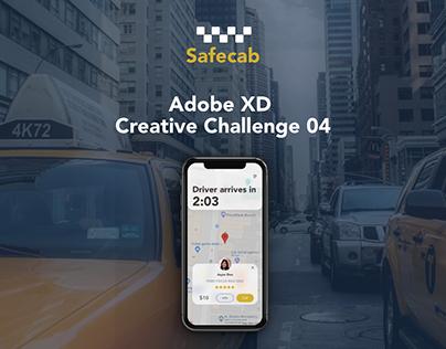 Adobe XD Creative Challenge 04.
