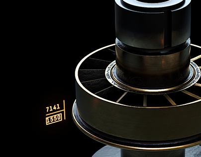 Star Wars Lightsaber FUI Design