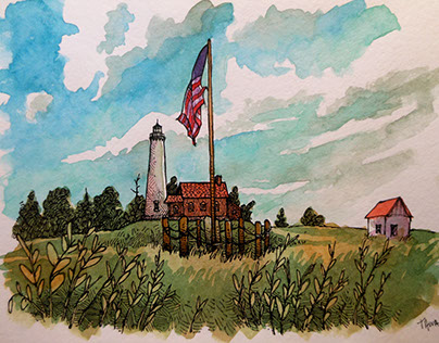 Lighthouse Travel Sketches