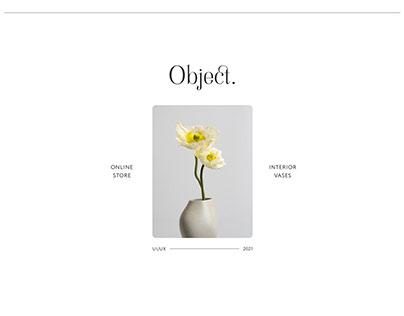 Object | Interior Vases Online Store
