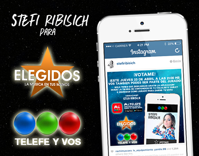 Stefi Ribisich para Elegidos 2015   TELEFE