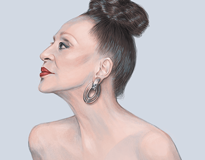 Mrs Machado - Portrait