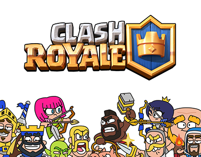 Clash Royale Character Design