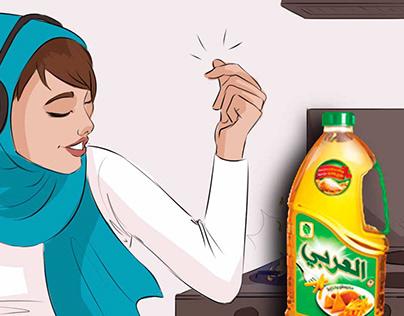 ElArabi Oil storyboard