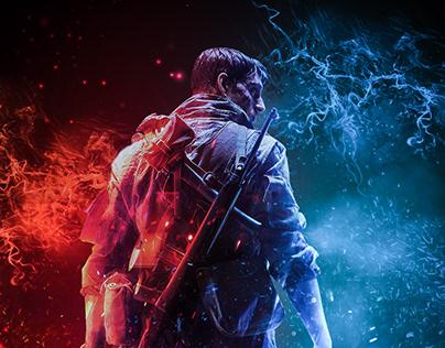 Battle Field V Poster Design