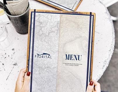Restaurant menu - FIORITAL