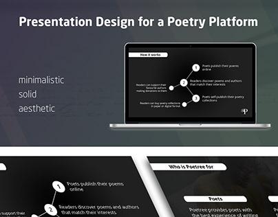 Presentation for a Poetry Platform
