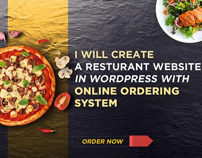 Want to Make restaurant website