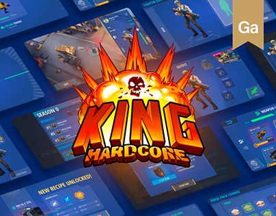 King Hardcore - UX & UI design