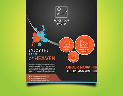 Food Offer Flyer/Poster Design