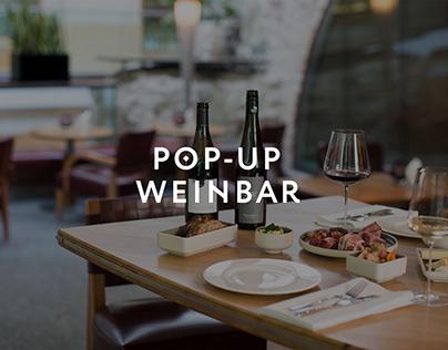 Pop-Up Weinbar
