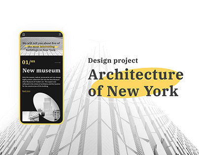 Architecture of New York | website