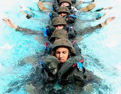 Military water training