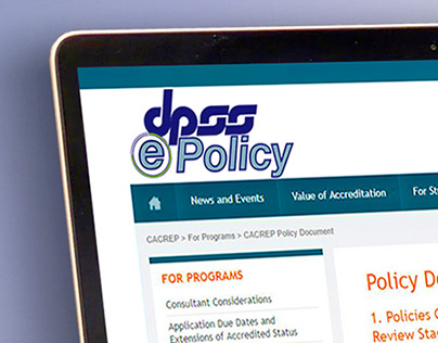 ePolicy Logo Design