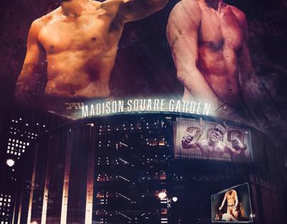 Masvidal/Diaz UFC 244 Promo Poster