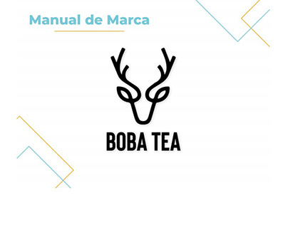 Manual de Identidad Corporativa -Boba Tea-