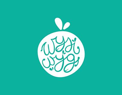 Logo concept for a vegan food company